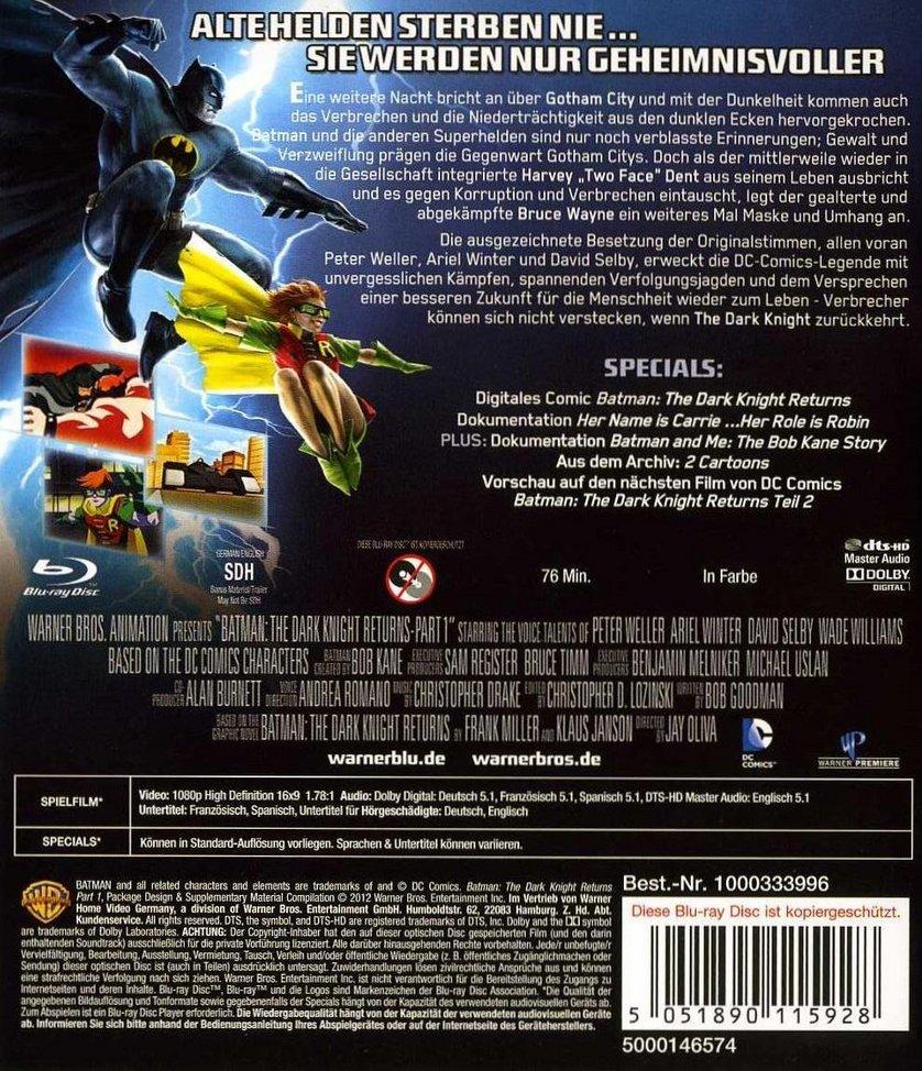 Batman: The Dark Knight Returns – Teil 1