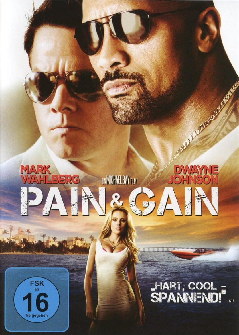 Pain And Gain Deutsch