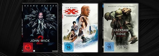 Juni-Highlights DVD & Blu-ray: Und Action! Eure Film-Highlights im Juni