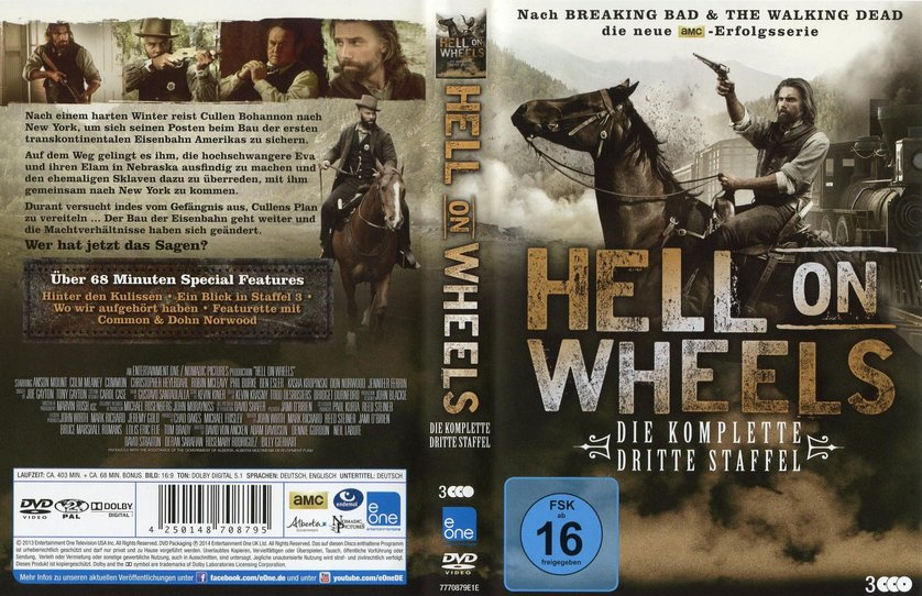 hell on wheels deutsch