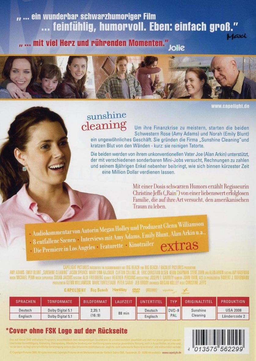 Amy adams sunshine cleaning 2008 - 1 part 2