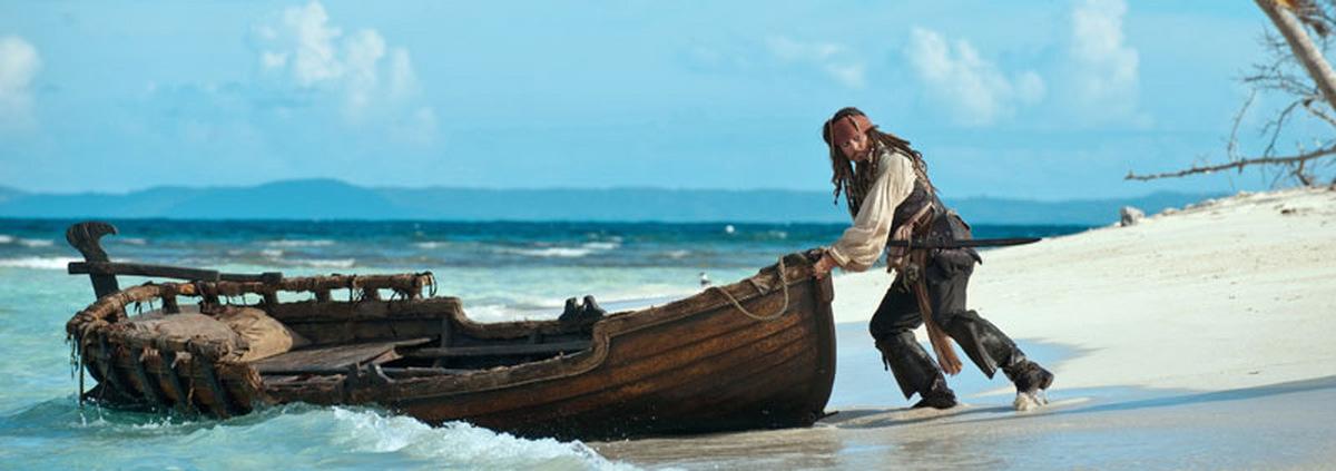 Fluch der Karibik: Mit Captain Jack Sparrow auf Film-Schatzsuche
