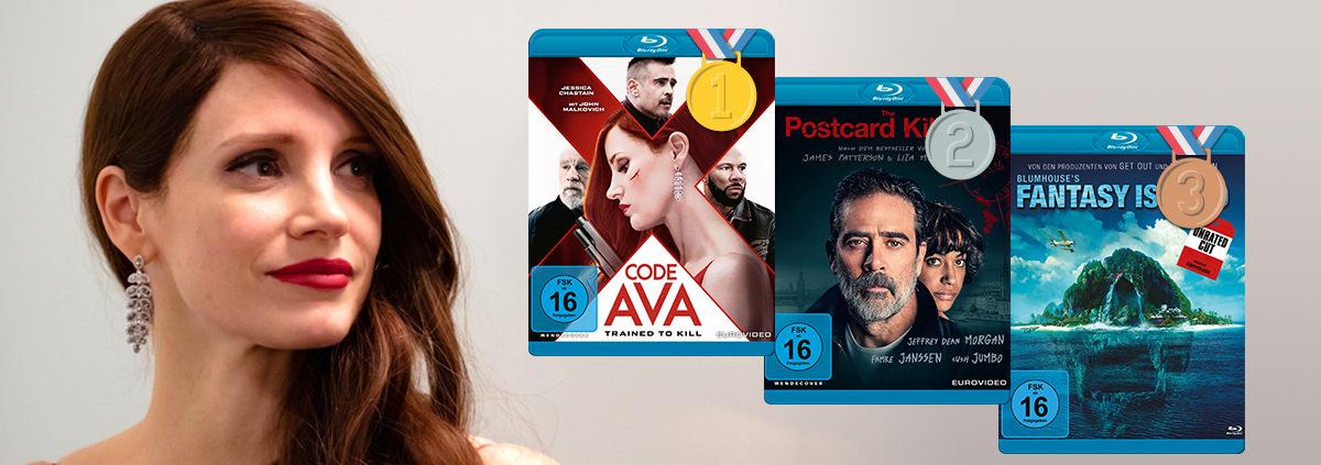 DVD & Blu-ray Charts 10-2020: Die Top 10 DVD und Blu-ray Charts Oktober 2020