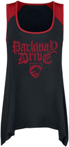 Parkway Drive Viva The Underdogs Kurzes Kleid schwarz rot powered by EMP (Kurzes Kleid)