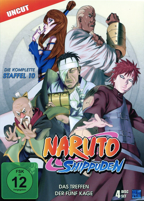 Naruto Shippuden Staffel 10 Dvd Oder Blu Ray Leihen