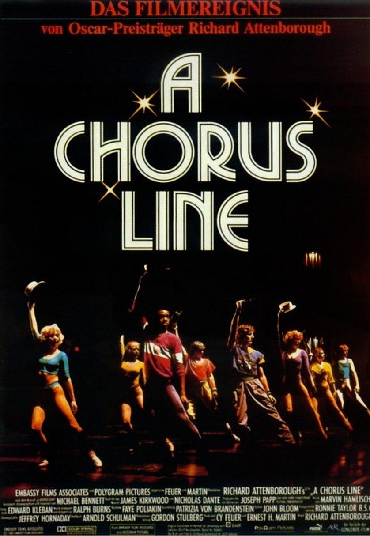 a chorus line  dvd oder blu-ray leihen