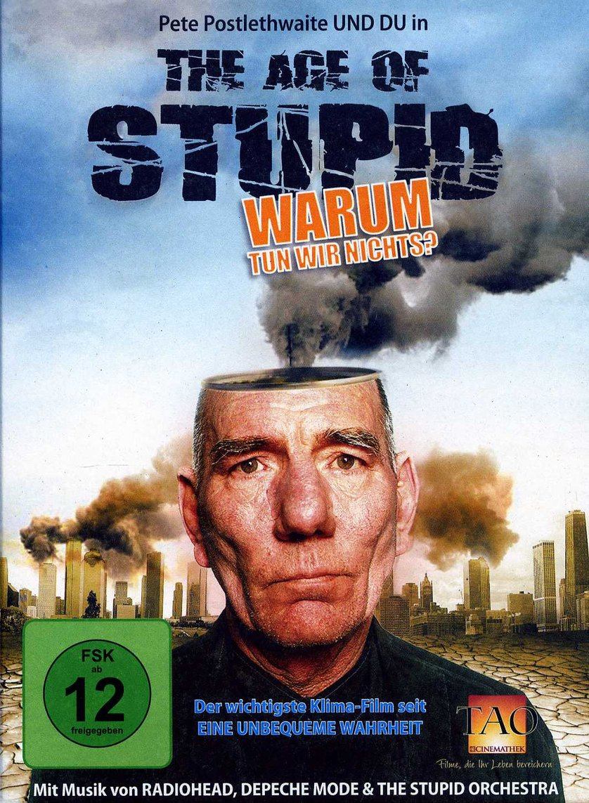 the age of stupid The age of stupid is a 2009 british documentary film by franny armstrong, director of mclibel (1997) and drowned out (2002), and founder of 10:10, and first-time.