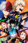 My Hero Academia Group powered by EMP (Poster)
