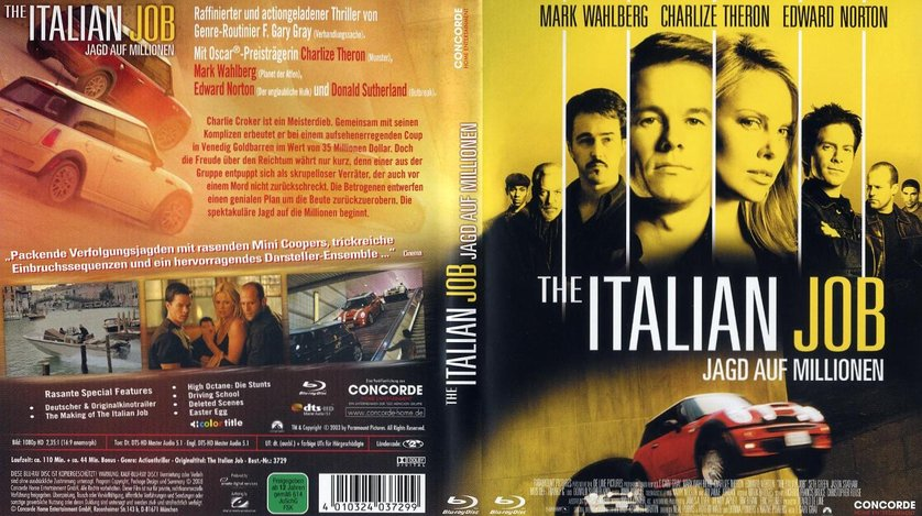 The Italian Job Trailer Deutsch
