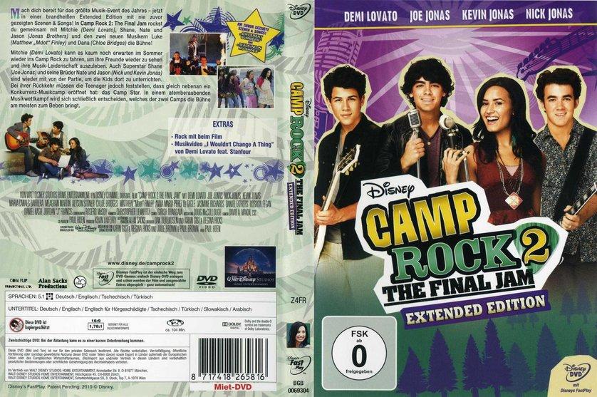 camp rock 2 dvd oder blu ray leihen. Black Bedroom Furniture Sets. Home Design Ideas