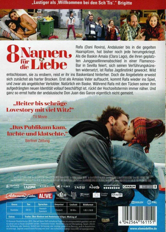 8 Namen Für Die Liebe Dvd Blu Ray Oder Vod Leihen Videobusterde