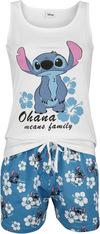Lilo and Stitch Hawaii Schlafanzug weiß blau powered by EMP (Schlafanzug)