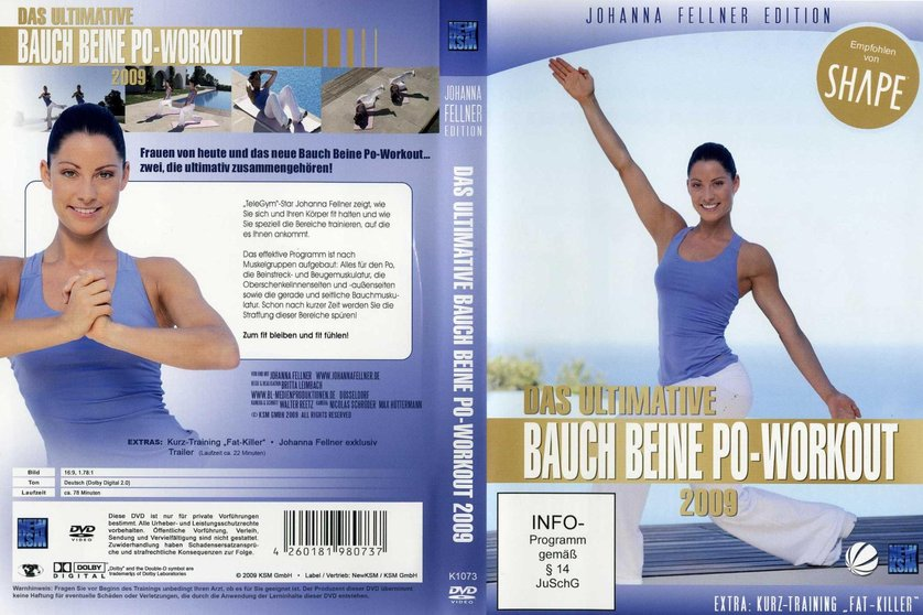 das ultimative bauch beine po workout 2009 dvd oder blu ray leihen. Black Bedroom Furniture Sets. Home Design Ideas