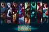 League Of Legends Champions powered by EMP (Poster)