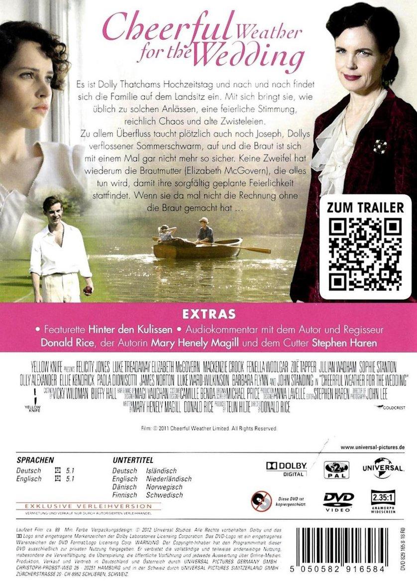 Cheerful Weather For The Wedding: DVD Oder Blu-ray Leihen