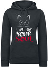 I Will Eat Your Soul powered by EMP (Kapuzenpullover)