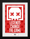 Apex Legends Legends Change The Game powered by EMP (Gerahmtes Bild)