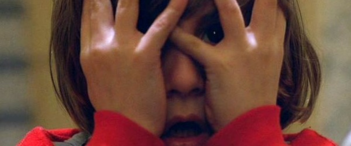 Verschließ nicht die Augen! Danny Lloyd als Danny Torrance in Kubricks 'Shining'' (Großbritannien/USA 1980) © Warner Home Video