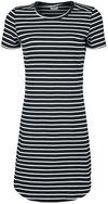 Noisy May Simma Dress Kurzes Kleid schwarz weiß powered by EMP (Kurzes Kleid)