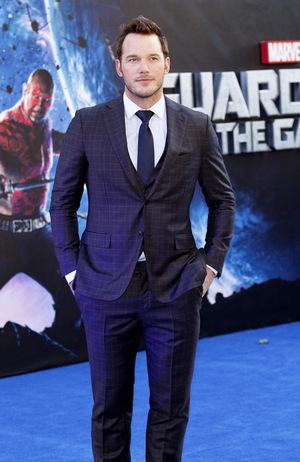 Starlord aus 'Guardians of the Galaxy' und der Star in 'Jurassic World': Chris Pratt © BANG