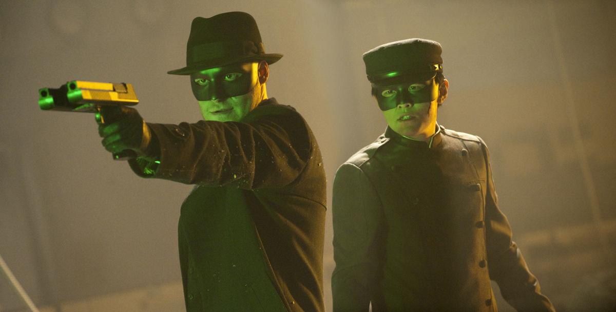 Seth Rogen und  Jay Chou in 'The Green Hornet - Die Grüne Hornisse' © Sony Pictures 2010