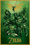 The Legend Of Zelda Link powered by EMP (Poster)