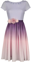 Rapunzel At last, I See The Light - Prom Mittellanges Kleid lila rosa powered by EMP (Mittellanges Kleid)