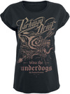 Parkway Drive Underdogs Wolf powered by EMP (T-Shirt)