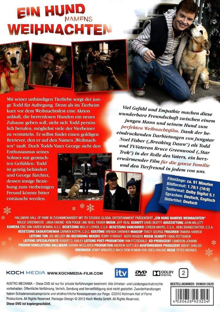 ein hund namens weihnachten dvd oder blu ray leihen. Black Bedroom Furniture Sets. Home Design Ideas