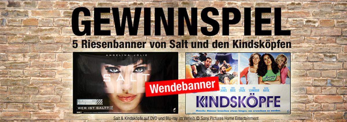 Riesenbanner Gewinnspiel: Agententhriller und Komödie in einem zu gewinnen!