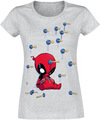 Deadpool Cartoon Knockout powered by EMP (T-Shirt)
