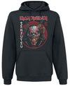 Iron Maiden Senjutsu Eddie Face Circle powered by EMP (Kapuzenpullover)
