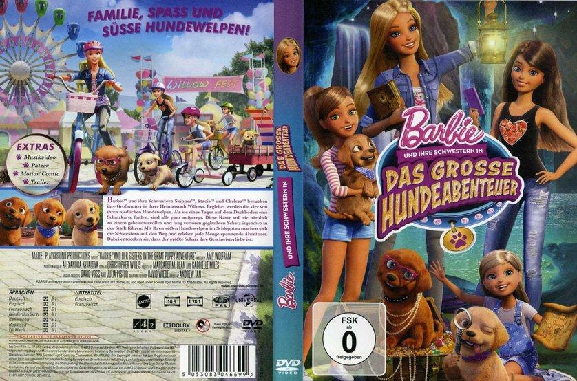 Barbie Und Ihre Schwestern In Das Gro 223 E Hundeabenteuer Dvd Oder Blu Ray Leihen Videobuster De