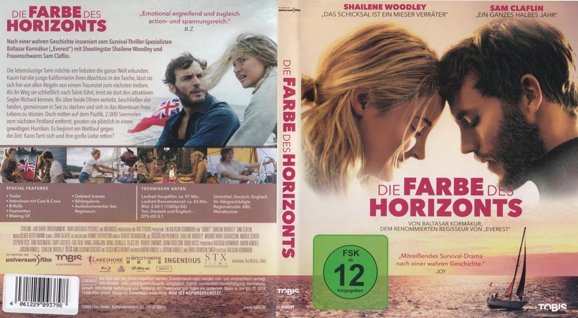 Die Farbe Des Horizonts Dvd
