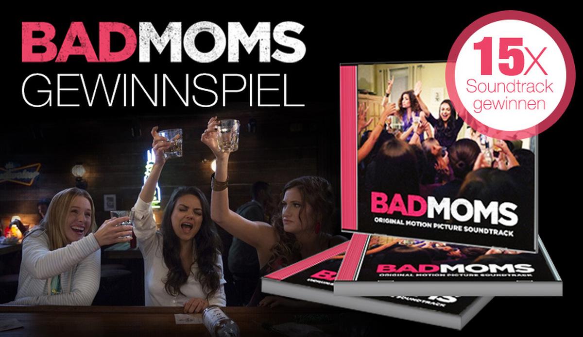 Bad Moms Gewinnspiel: Hebt die Gläser & gewinnt Soundtracks!