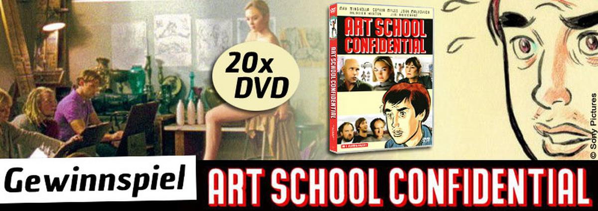 Art School Confidential Gewinnspiel: Die Kunst zu gewinnen: 'Art School' frei Haus!