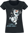 Die Eiskönigin Olaf - I Love Warm Hugs powered by EMP (T-Shirt)