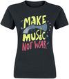 Make Music Not War powered by EMP (T-Shirt)