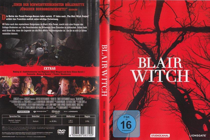 blair witch dvd oder blu ray leihen. Black Bedroom Furniture Sets. Home Design Ideas