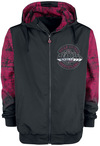 Deadpool Mercenary Windbreaker schwarz rot powered by EMP (Windbreaker)