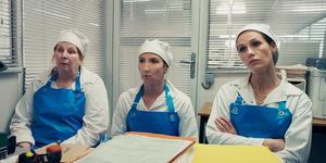 Von links: Yolande Moreau, Audrey Lamy und Cécile de France in 'Rebellinnen' © Concorde