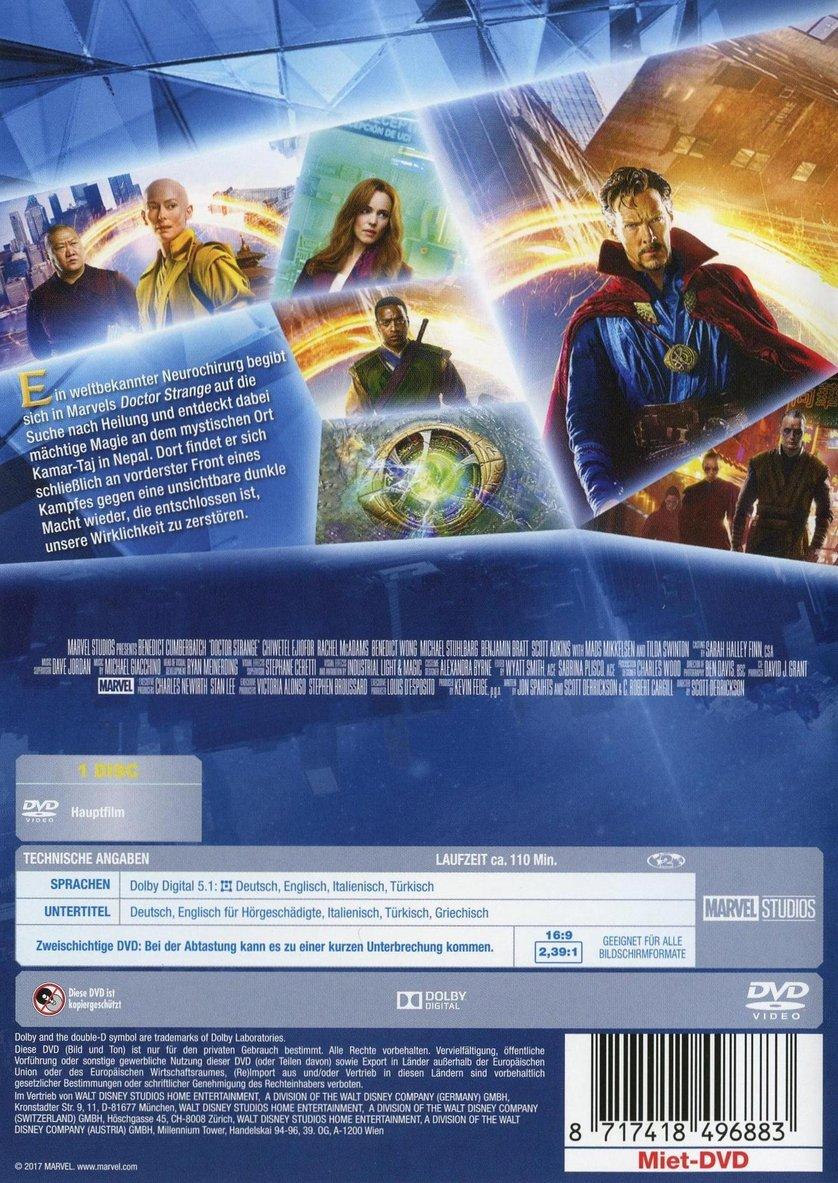 Doctor Strange: DVD oder Blu-ray leihen - VIDEOBUSTER.de  Doctor Strange:...