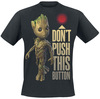 Guardians Of The Galaxy 2 - Groot - Button powered by EMP (T-Shirt)