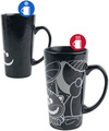 Alice im Wunderland Cheshire Cat - Heat Change Mug powered by EMP (Tasse)