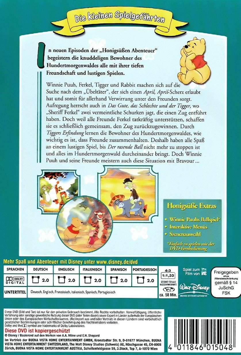 Winnie Puuh  Honigse Abenteuer 3 DVD oder Bluray leihen