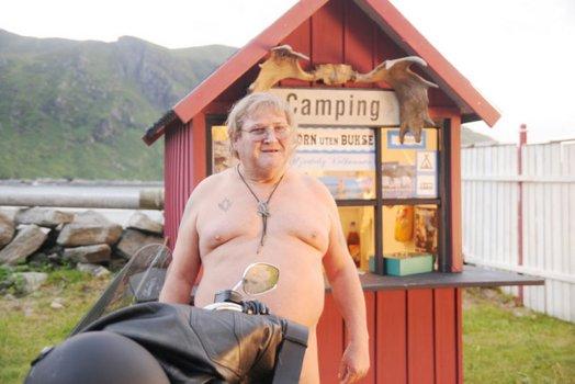 Ein Mann, ein Fjord