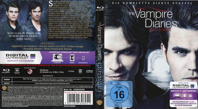 Vampire Diaries Staffel 7 Dvd