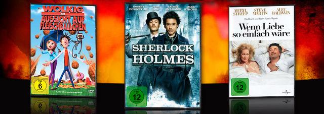 Film-Hits neu im Verleih: Gute Aussichten: Liebe mit Sherlock & Fleischbällchen