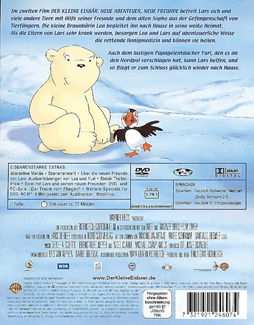 Der Kleine Eisbar Neue Abenteuer Neue Freunde 2 Freunde 2 Lars Lea Und Yuri Dvd Oder Blu Ray Leihen Videobuster De