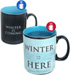 Game Of Thrones Winter is here - Tasse mit Thermoeffekt powered by EMP